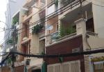 Cho thuê nhà hẻm 134 Cách Mạng Tháng Tám, 6m x 25m, trệt, 3 lầu, sân thượng