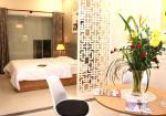 Cho thuê nhà Võ Văn Tần gần CMT8, 4,5 x 20m, trệt, 3 lầu, ST, 6PN, nhà mới, giá 28 tr/th