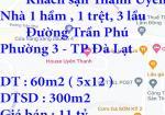 Chính chủ cần bán khách sạn Thanh Uyên ngay trung tâm Thành Phố Đà Lạt